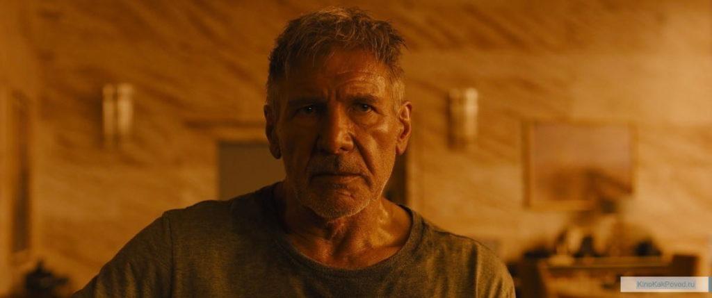 «Бегущий по лезвию 2049» - «Blade Runner 2049»  (реж. Дени Вильнёв, 2017) -Харрисон Форд - фильм (фото, кадр)
