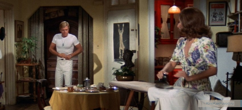 «Какими мы были» - «The Way We Were» (Сидни Поллак, 1973) - Барбара Стрейзанд, Роберт Редфорд - фильм (фото, кадр)