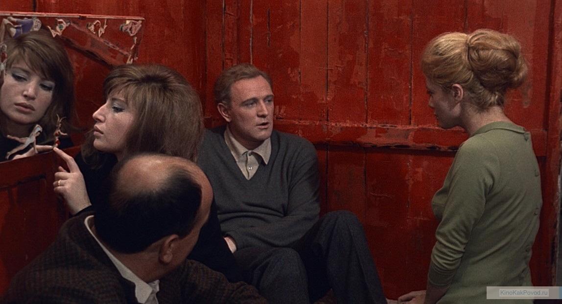 «Красная пустыня» - «Il deserto rosso»  (реж. Микеланджело Антониони, 1964) - Моника Витти, Ричард Харрис - фильм (фото, кадр)