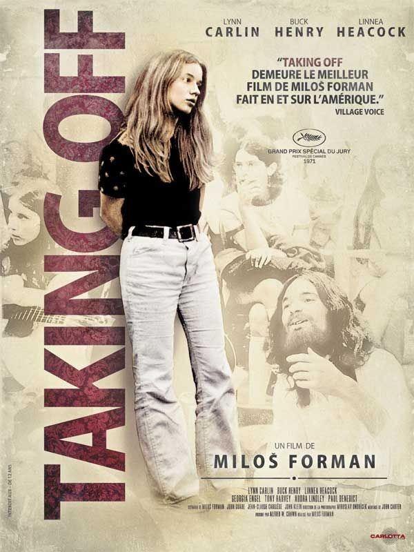 «Отрыв» - «Taking Off» (Милош Форман, 1971) - постер
