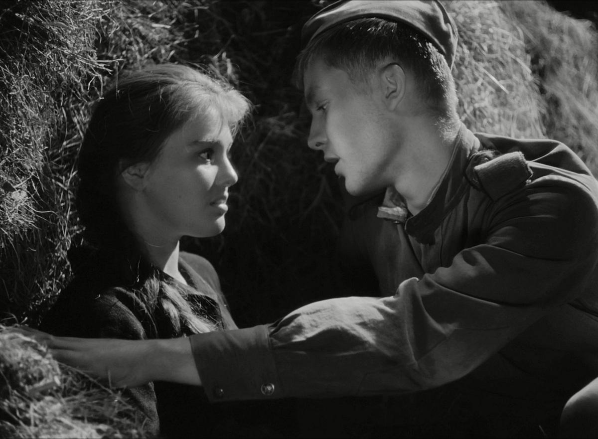 «Баллада о солдате» (реж. Григорий Чухрай, 1959) - Жанна Прохоренко, Владимир Ивашов - фильм (фото, кадр)