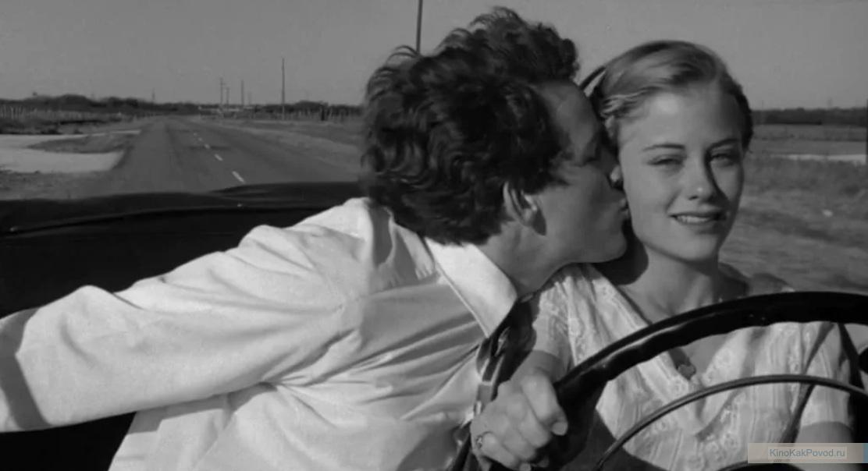 «Последний киносеанс» - «The Last Picture Show» (реж. Питер Богданович, 1971) - Сибилл Шепард, Тимоти Боттомс - фильм (фото, кадр)