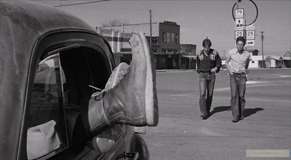 «Последний киносеанс» - «The Last Picture Show» (реж. Питер Богданович, 1971) - Тимоти Боттомс, Джефф Бриджес - фильм (фото, кадр)