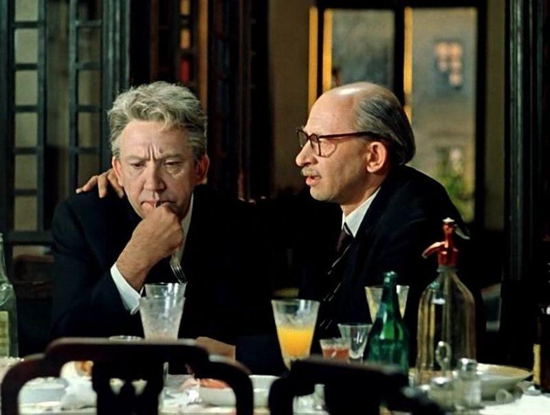 «Старики-разбойники» (реж. Эльдар Рязанов, 1971) - Юрий Никулин, Евгений Евстигнеев - фильм (фото, кадр)