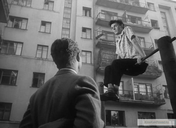 «Застава Ильича» - «Мне двадцать лет» (реж. Марлен Хуциев, 1964) - Станислав Любшин - фильм (фото, кадр)