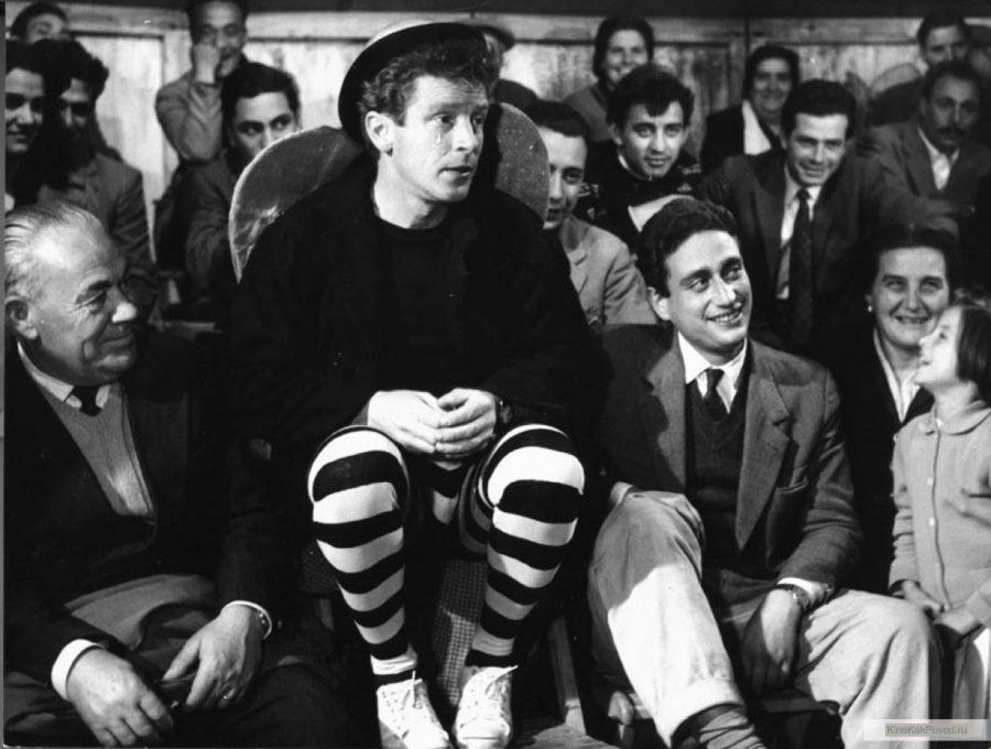 «Дорога» - «La strada» (реж. Федерико Феллини, 1954) - Ричард Бейсхарт - фильм (фото, кадр)