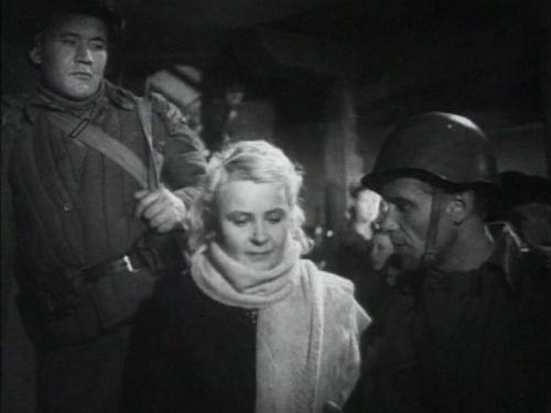 «Два бойца» (реж. Леонид Луков, 1943) - Борис Андреев,Вера Шершнева, Марк Бернес - фильм (фото, кадр)