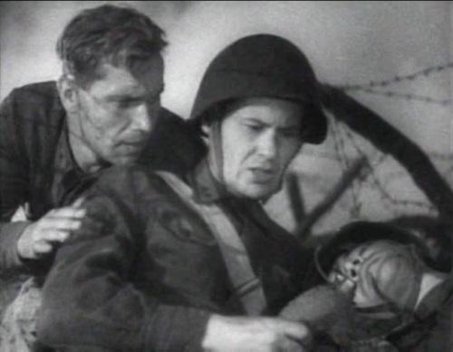 «Два бойца» (реж. Леонид Луков, 1943) - Марк Бернес - фильм (фото, кадр)