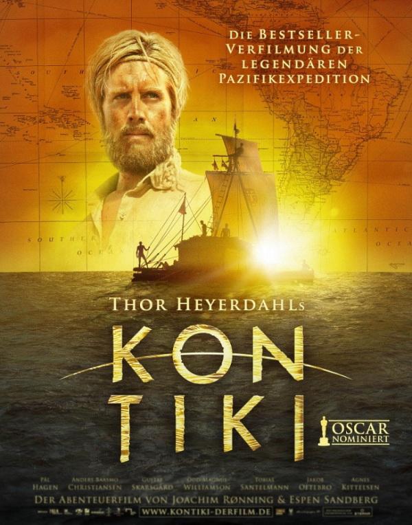 «Кон-Тики» - «Kon-Tiki» (реж. Хоаким Роннинг, Эспен Сандберг, 2012) - фильм (постер)