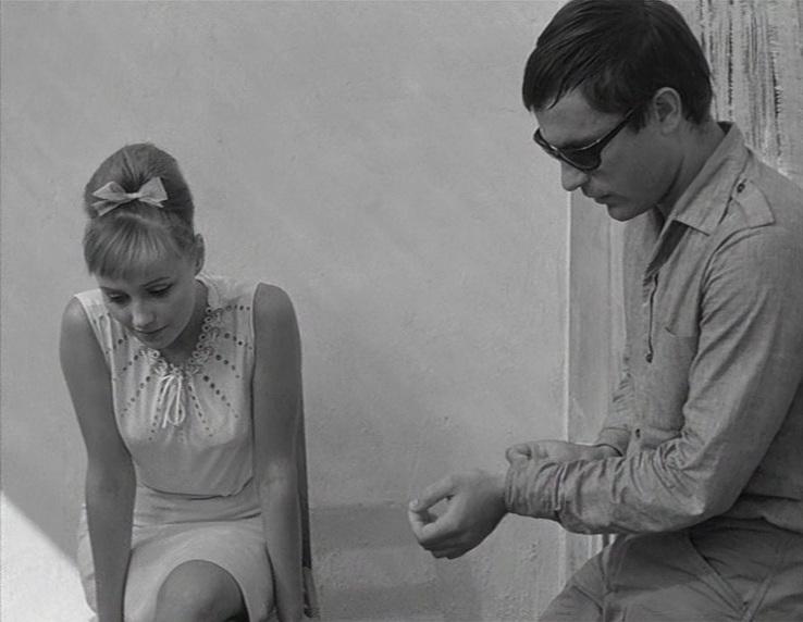 «Нежность» (реж. Эльёр Ишмухамедов, 1966) - в гл.р. Мария Стерникова, Родион Нахапетов - фильм (фото, кадр)