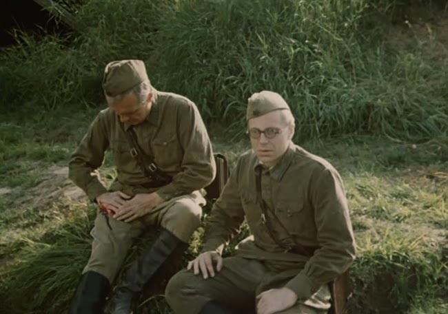 «Объяснение в любви» (реж. Илья Авербах, 1977) - Кирилл Лавров, Юрий Богатырев - фильм (фото, кадр)