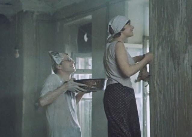 «Объяснение в любви» (реж. Илья Авербах, 1977) - Юрий Богатырев, Эва Шикульска - фильм (фото, кадр)