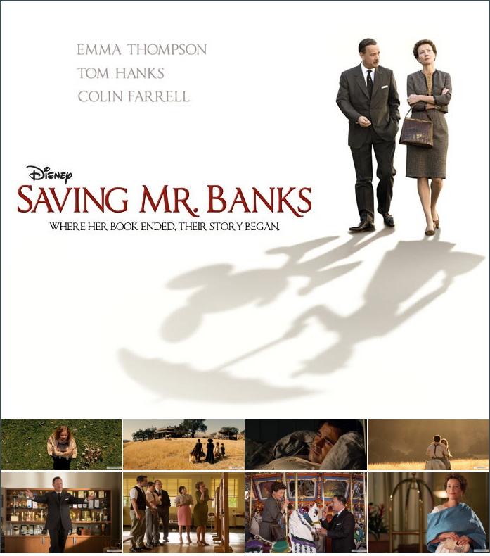 «Спасти мистера Бэнкса» - «Saving Mr. Banks» (реж. Джон Ли Хэнкок, 2013)