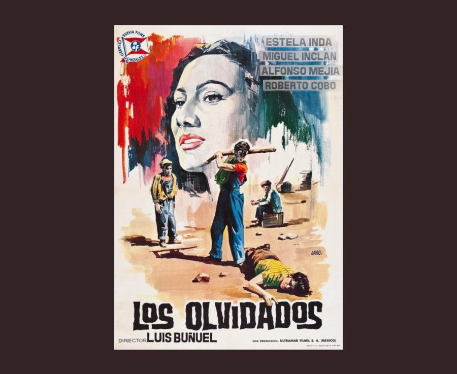 «Забытые» - «Los olvidados»  (реж. Луис Бунюэль, 1950) - фильм (постер)