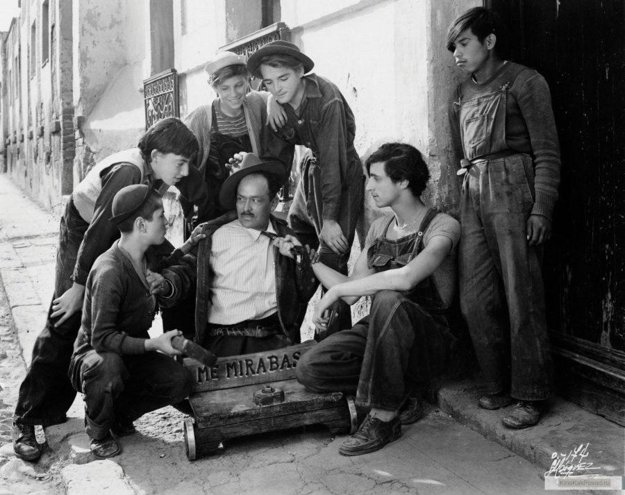 «Забытые» - «Los olvidados»  (реж. Луис Бунюэль, 1950) - фильм (фото, кадр)